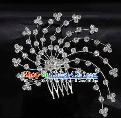 Chinese Handmade Classical Hair Accessories Ancient Palace Lady Hanfu Hair Comb for Women