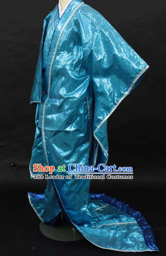 Asian Japanese Traditional Costumes Japan Kimono Silk Dance Clothing for Women