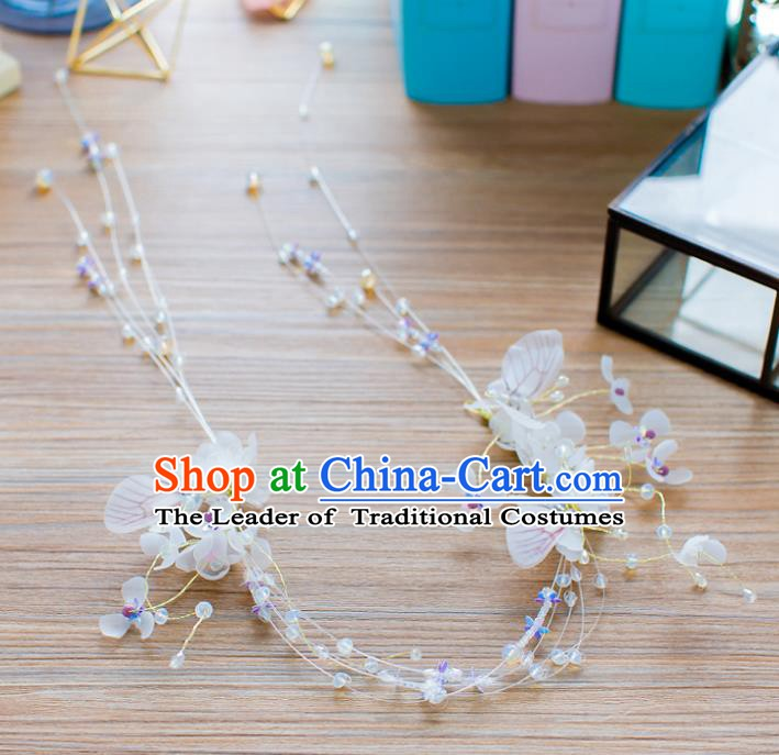 Handmade Classical Wedding Hair Accessories Bride Hair Clasp Headwear for Women