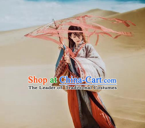 China Ancient Wei Dynasty Nobility Childe Costume Traditional Chinese Swordsman Clothing for Men