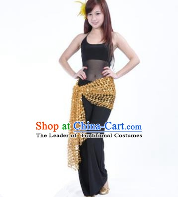 Traditional Indian Belly Dance Oriental Dance Black Costume for Women