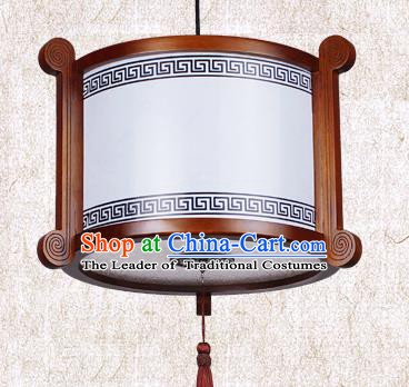 Traditional Chinese Painted Palace Lanterns Handmade Hanging Lantern Ancient Ceiling Lamp