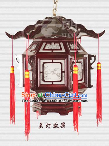 Traditional Chinese Palace Lanterns Handmade Hanging Lantern Ancient Ceiling Lamp