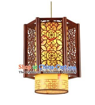 Traditional Chinese Painted Hanging Palace Lanterns Handmade Lantern Ancient Ceiling Lamp