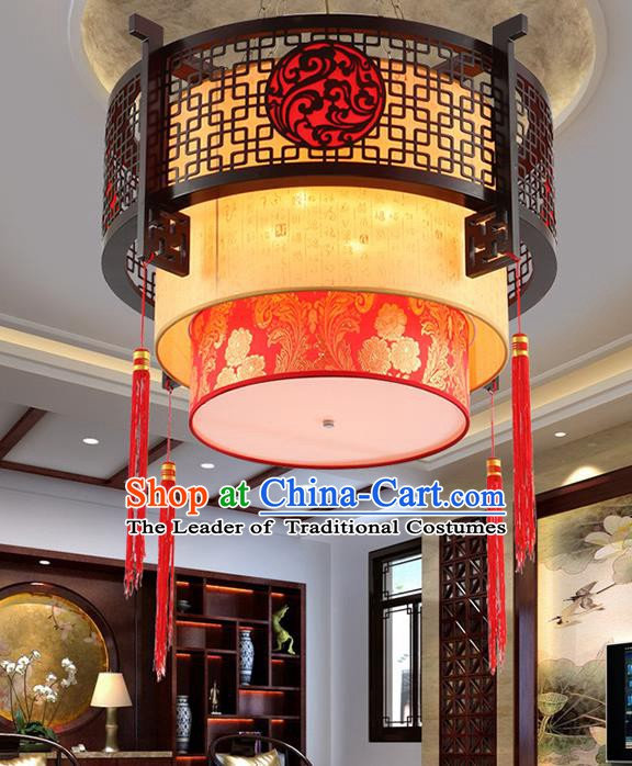 Traditional Chinese Palace Lanterns Handmade New Year Lantern Ancient Ceiling Lamp