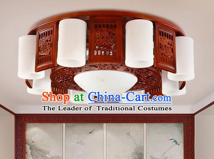 Traditional Chinese Wood Ceiling Lanterns Ancient Handmade Lantern Ancient Lamp