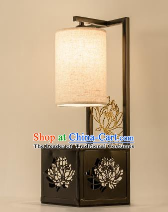 Traditional China Ancient Lotus Desk Lanterns Handmade Lantern Ancient Lamp