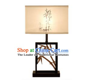 Traditional China Ancient Carving Bamboo Desk Lanterns Handmade Lantern Ancient Lamp