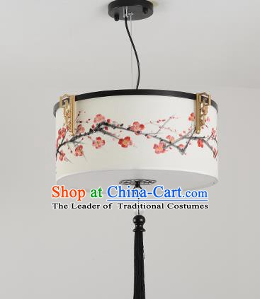 Traditional Handmade Chinese Painting Plum Blossom Hanging Lanterns Ancient Ceiling Lantern Ancient Lamp