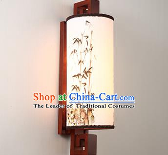 China Handmade Parchment Wall Lantern Painting Bamboo Lanterns Traditional Lamp