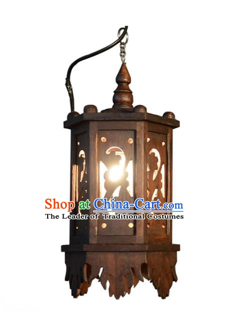 Handmade Thailand Wall Lantern Asian Lanterns Religion Lantern Traditional Lamp