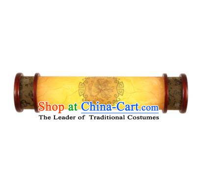 China Handmade Palace Lanterns Parchment Wall Lantern Ancient Wood Lanterns Traditional Lamp