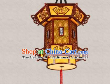 Traditional Chinese Handmade Ceiling Lantern Hanging Palace Lanterns Ancient Lamp
