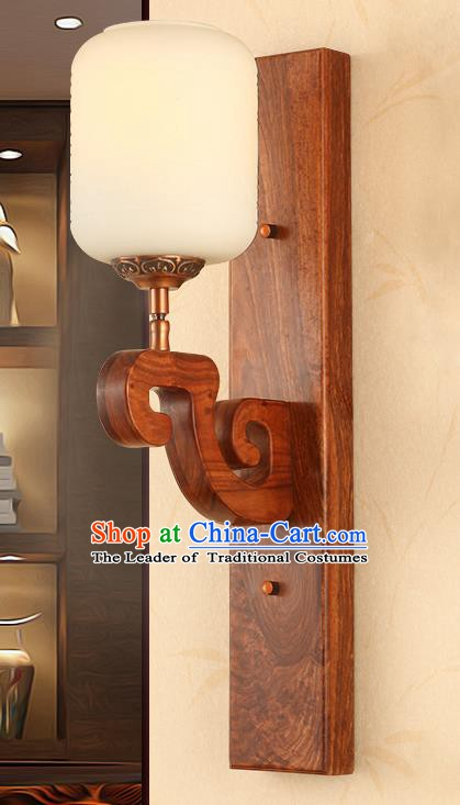 China Handmade Rosewood Lanterns Palace Marble Wall Lantern Ancient Lanterns Traditional Lamp