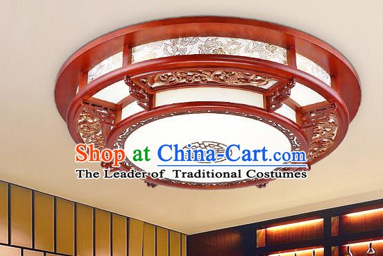 Traditional Chinese Handmade Palace Lantern Wood Ceiling Lanterns Ancient Lamp