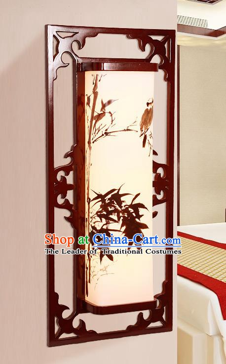 China Handmade Painted Bamboo Lanterns Palace Wall Lantern Ancient Lanterns Traditional Lamp