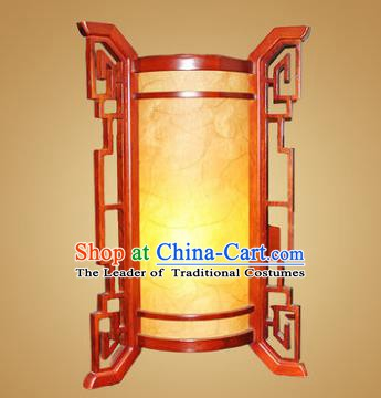 China Handmade Wood Lanterns Palace Parchment Desk Lantern Ancient Lanterns Traditional Lamp