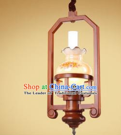 Traditional Chinese Handmade Palace Lantern New Year Hanging Lanterns Ancient Kerosene Lamp