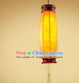 Traditional Chinese Hanging Palace Lantern Handmade Wood Ceiling Lanterns Ancient Lamp