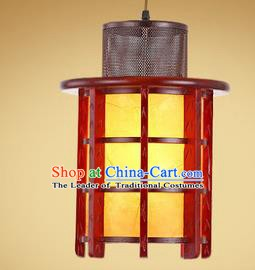 Traditional Chinese Handmade Wood Palace Lantern New Year Hanging Lanterns Ancient Lamp
