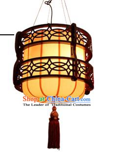 Traditional Chinese Parchment Palace Lantern Handmade Pumpkin Ceiling Lanterns Ancient Lamp