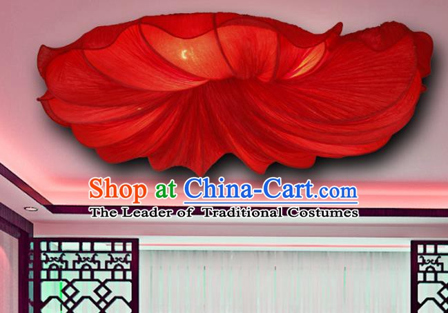 Top Grade Handmade Wedding Lanterns Traditional Chinese Red Ceiling Palace Lantern Ancient Lanterns
