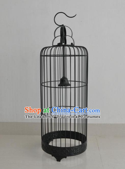 Top Grade Handmade Iron Birdcage Palace Lanterns Traditional Chinese Lantern Ancient Ceiling Lanterns