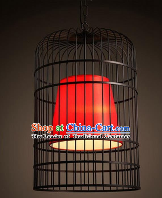 Top Grade Handmade Iron Lanterns Traditional Chinese Hanging Palace Lantern Ancient Ceiling Lanterns