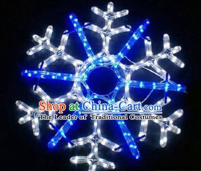 Handmade Stage Performance Lamplight Snowflake LED Lamp Lanterns