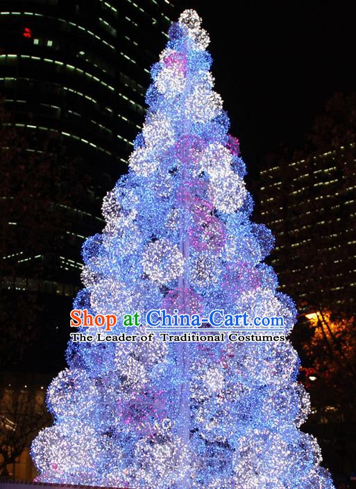 Traditional Handmade Shiny Frame Christmas Tree Decorations Lights Lamplight LED Lamp Lanterns
