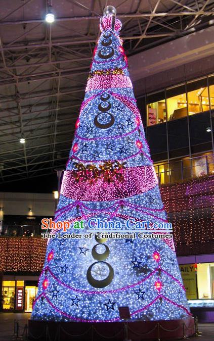Traditional Handmade Christmas Shiny Decorations Christmas Tree Lights Lamplight LED Lamp Lanterns