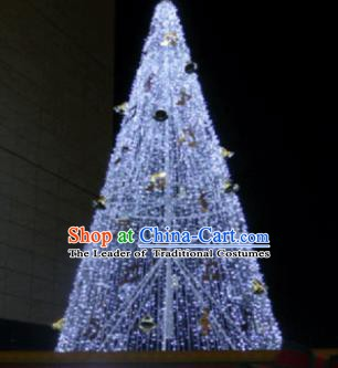 Traditional Gleamy Christmas Tree Stage Lights Stars Display Decorations Lamplight LED Lanterns