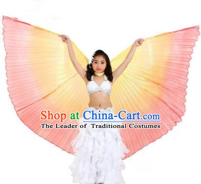 Traditional Indian Children Performance Oriental Dance White Dress Belly Dance Costume for Kids