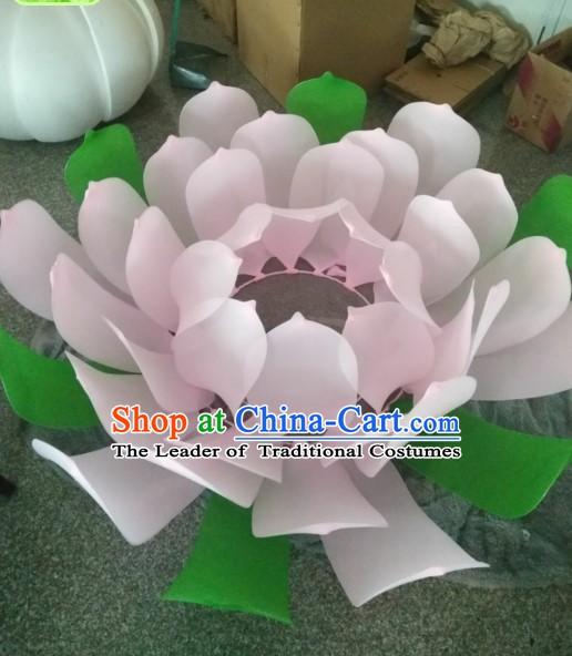 3 Meters Giant Lotus Flower Dance Props Stage Prop