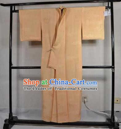 Japanese Traditional Male Kimono Clothing Pink Haori Kimonos Yukata Robe for Men