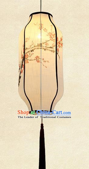 Traditional Chinese Lantern Handmade Painting Plum Blossom Lanterns Festival Lamps