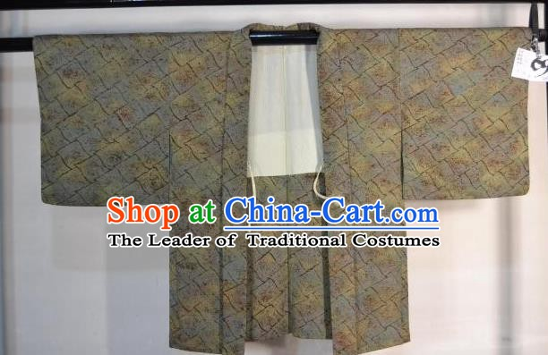 Japanese Traditional Male Kimono Clothing Japan Samurai Haori Kimonos Yukata Robe for Men