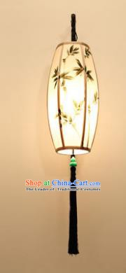 Traditional Asian Chinese Lantern China Style Wall Lamp Electric Printing Palace Lantern