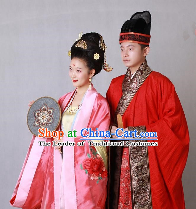 Traditional Chinese Ancient Costume China Wedding Dress Ancient Ming Dynasty Hanfu Princess Clothing