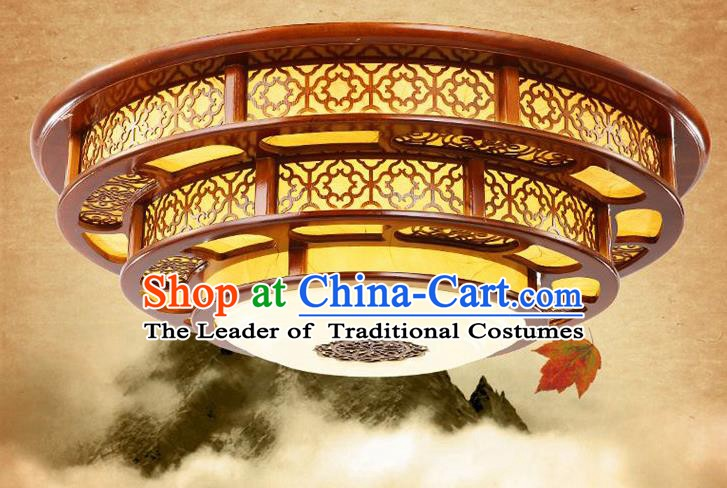 Asian China Traditional Handmade Lantern Parchment Lanterns Ceiling Lamp Ancient Palace Lanern