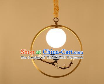 Traditional China Handmade Lantern Ancient Birds Hanging Lanterns Palace Ceiling Lamp
