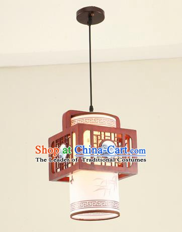 China Traditional Handmade Ancient Ceramic Hanging Lantern Palace Lanterns Ceiling Lamp