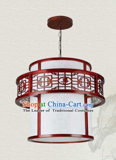 China Traditional Handmade Ancient Hanging Lantern Palace Lanterns Round Ceiling Lamp