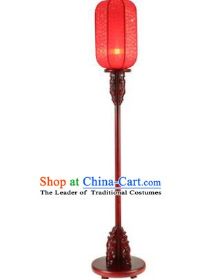 Traditional Asian Chinese Lanterns China Ancient New Year Red Floor Lamp Palace Lantern