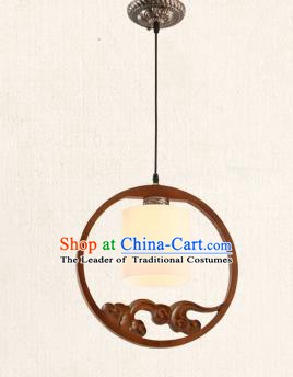 China Traditional Handmade Lantern Ancient Wood Hanging Lanterns Palace Ceiling Lamp