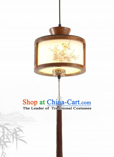 China Traditional Handmade Lantern Ancient Hanging Lanterns Palace Ceiling Lamp