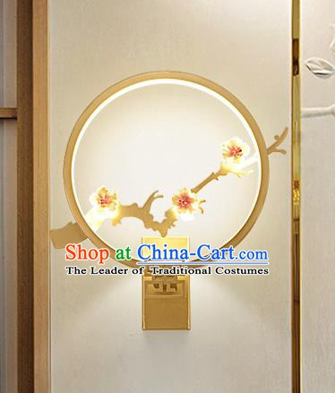 Traditional Asian China Style Lanterns Chinese Ancient Plum Blossom Wall Lamp Palace Lantern