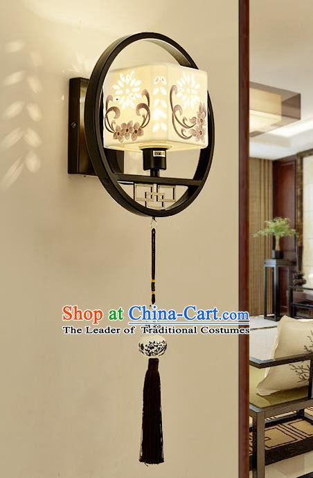 Traditional Asian China Style Pierced Lanterns Chinese Ancient Wall Lamp Palace Lantern