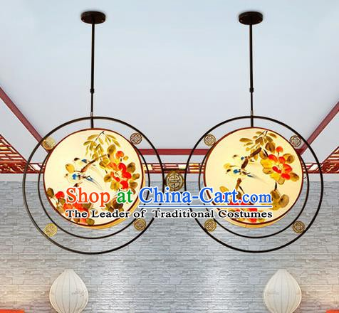 China Handmade Ceiling Lantern Traditional Ancient Hanging Lamp Palace Lanterns
