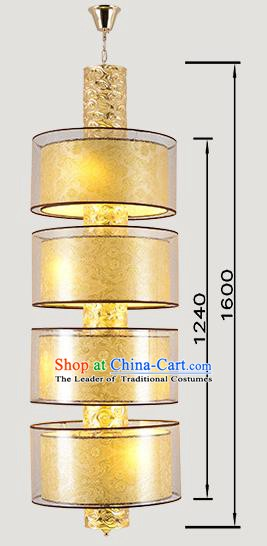 China Handmade Lantern Traditional Wedding Three-Lights Hanging Lanterns Palace Ceiling Lamp